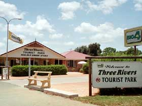 Mundubbera Three Rivers Tourist Park - Mount Gambier Accommodation