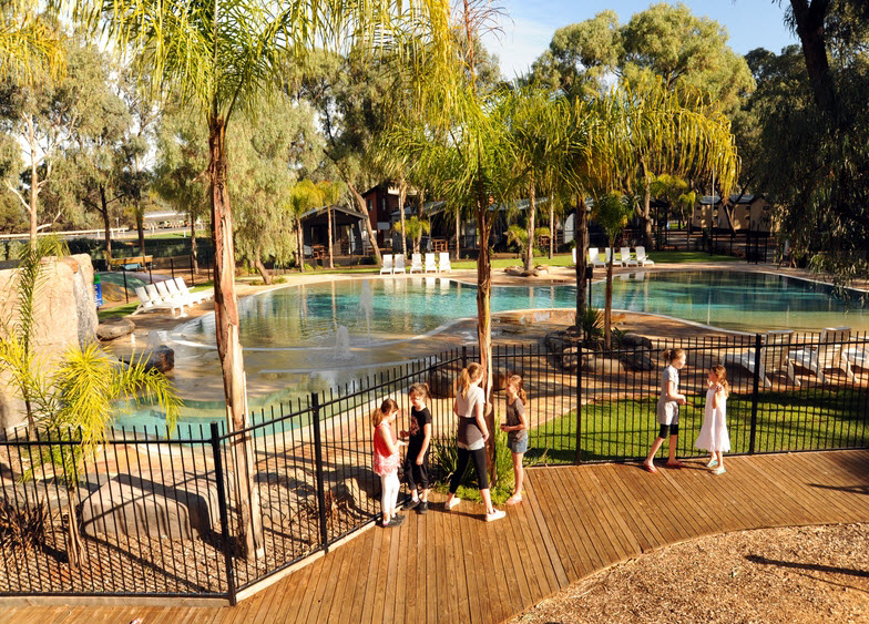BIG4 Renmark Riverfront Caravan Park - Mount Gambier Accommodation