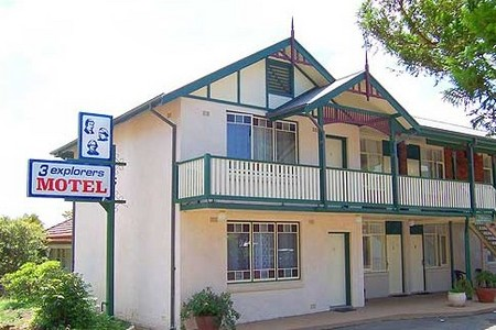 3 Explorers Motel - Mount Gambier Accommodation