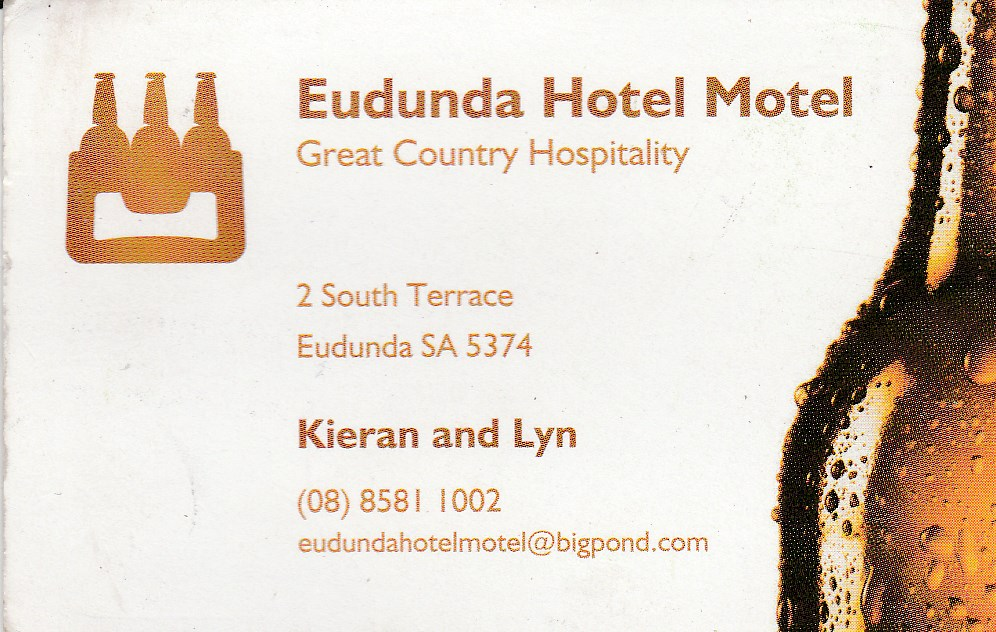 Eudunda Hotel Motel - Mount Gambier Accommodation