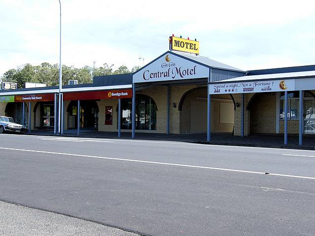 Gin Gin Central Motel - Mount Gambier Accommodation