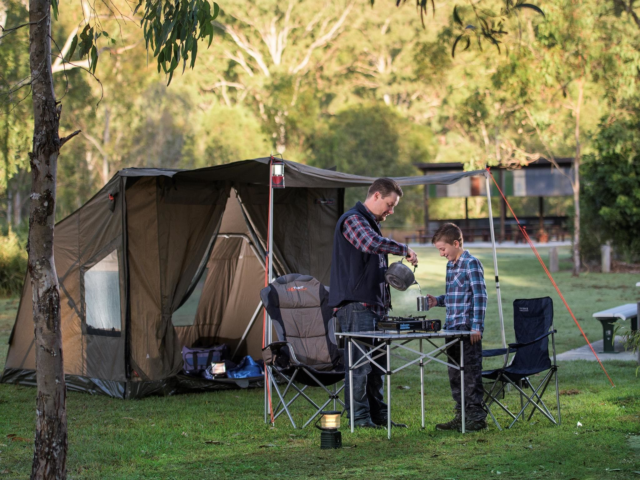 Hardings Paddock Campground - Mount Gambier Accommodation