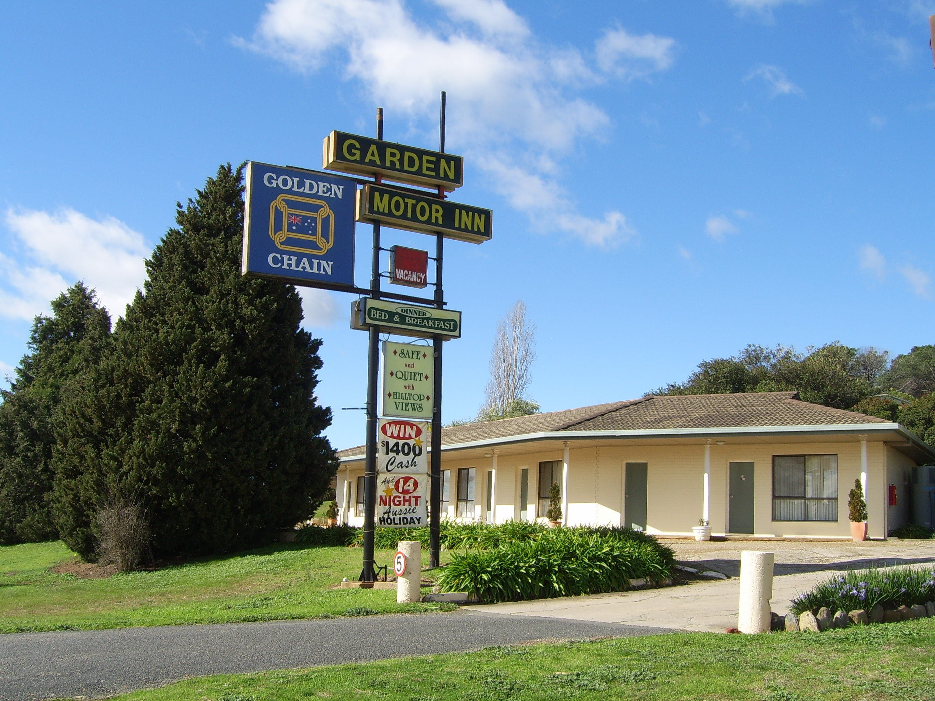 Garden Motor Inn Golden Chain - Mount Gambier Accommodation
