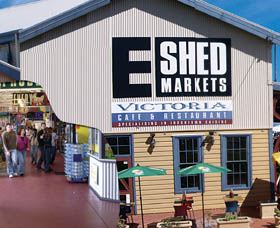 The E Shed Markets - Mount Gambier Accommodation