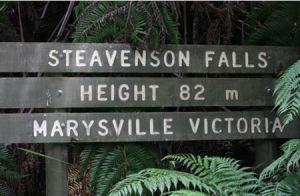 Stevensons Falls - Mount Gambier Accommodation