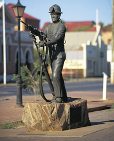 Miners Monument - Mount Gambier Accommodation