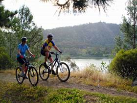 Mount Gambier Crater Lakes Mountain Bike Trail - Mount Gambier Accommodation