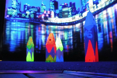 Family Fun Centres Black Light Mini Golf - Mount Gambier Accommodation