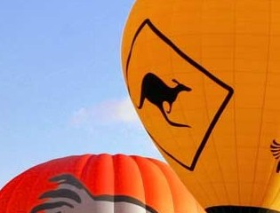 Hot Air Balloon - Mount Gambier Accommodation