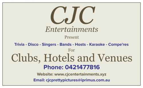 CJC Entertainments - Mount Gambier Accommodation