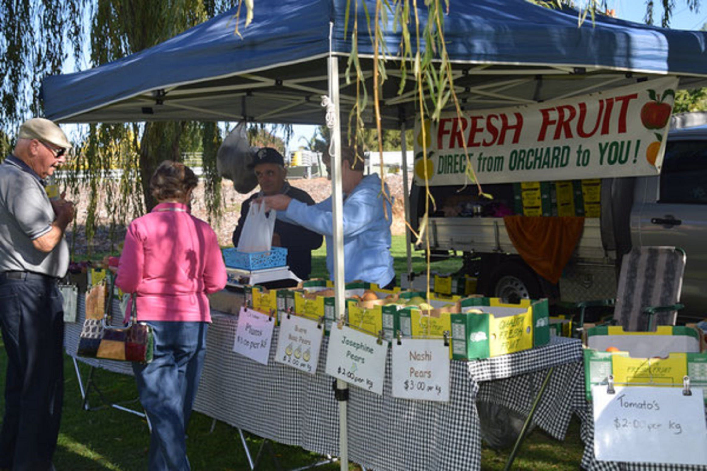 Corowa Rotary Federation Festival Market - Mount Gambier Accommodation