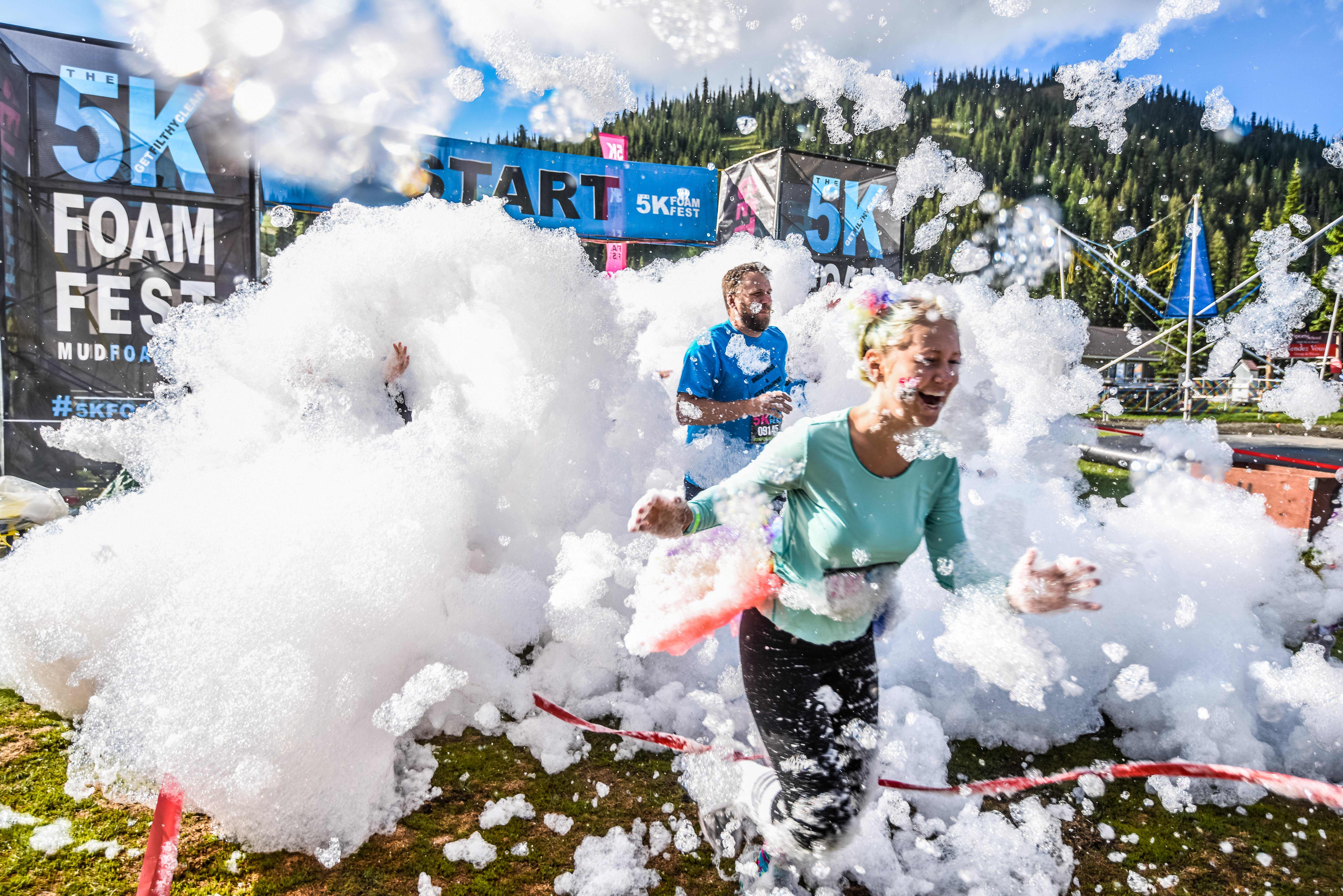 The 5K Foam Fest - Perth - Mount Gambier Accommodation