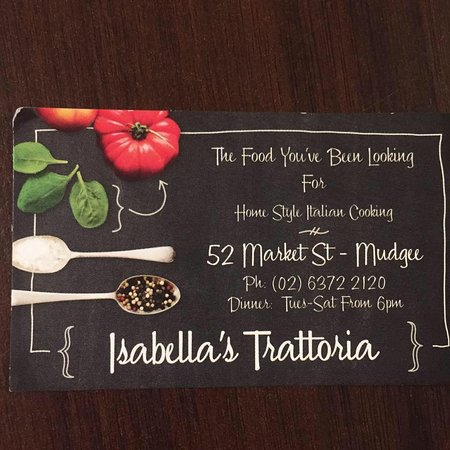 Isabella's Trattoria - Mount Gambier Accommodation
