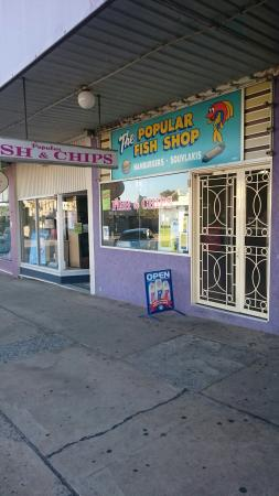The Popular Fish Shop - Mount Gambier Accommodation