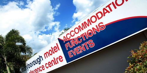 Maryborough Motel  Conference Centre - Mount Gambier Accommodation