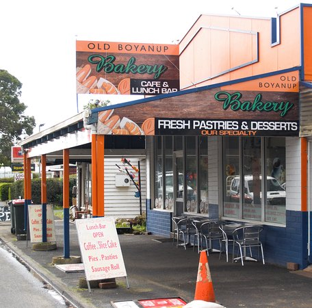 The Old Boyanup Bakery Cafe - Mount Gambier Accommodation