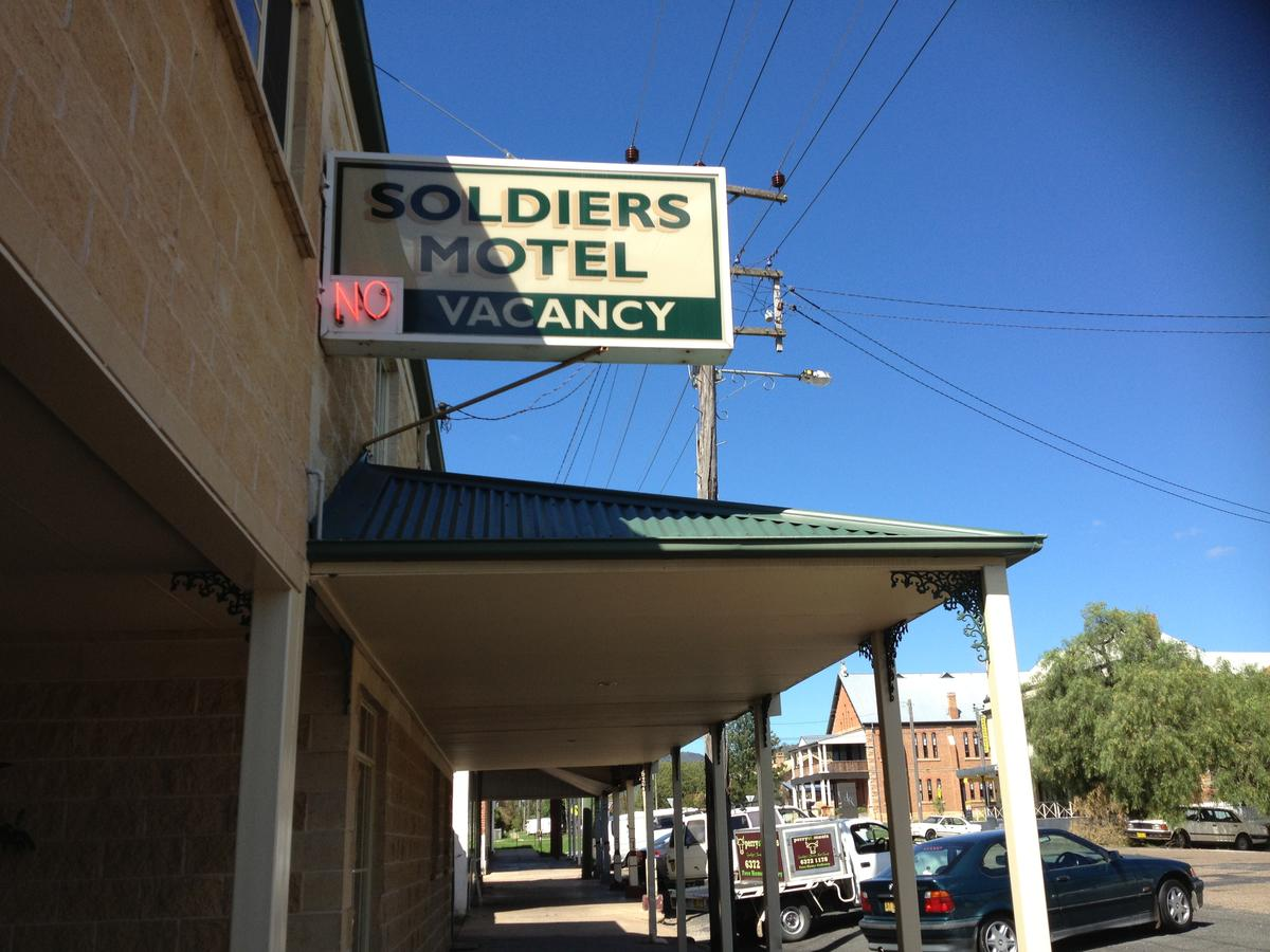 Soldiers Motel - Mount Gambier Accommodation