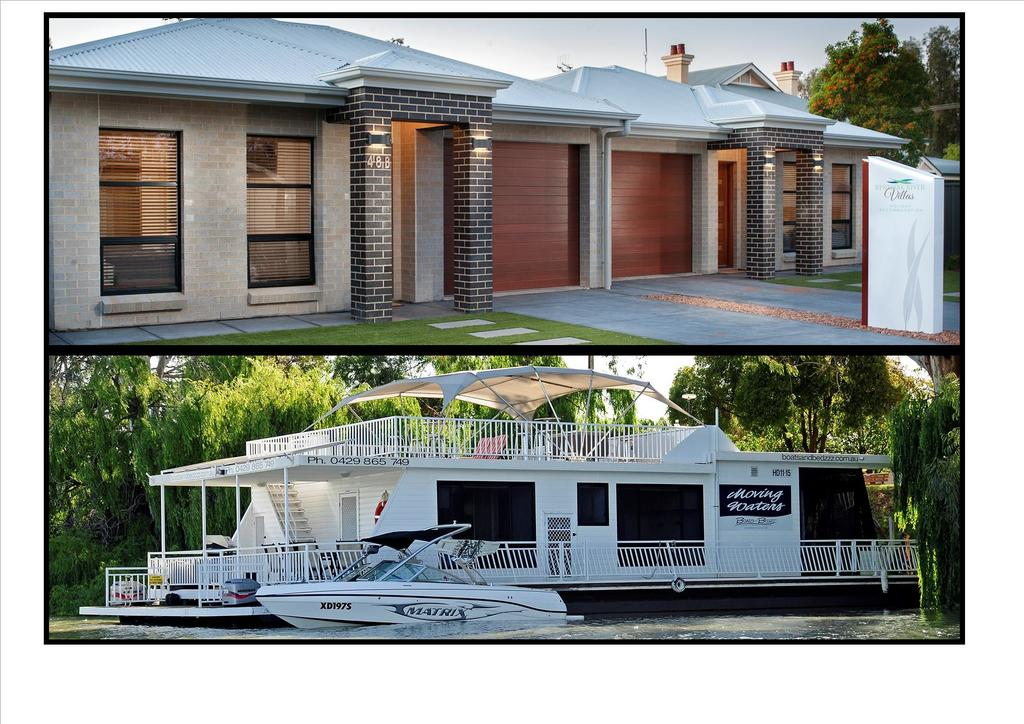 Renmark River Villas and Boats  Bedzzz - Mount Gambier Accommodation
